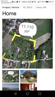 Anwesen im Ungarn 45 Km