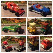 Ü-Ei-Automodelle teils 80er Jahre