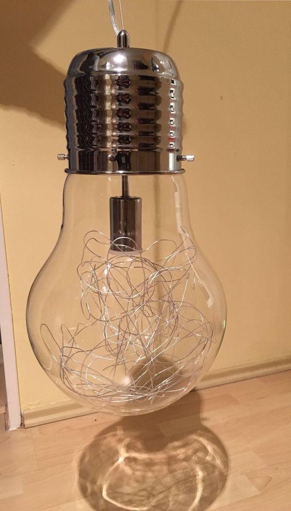 Hangelampe Gluhbirnenform In Schwabach Lampen Kaufen Und Verkaufen