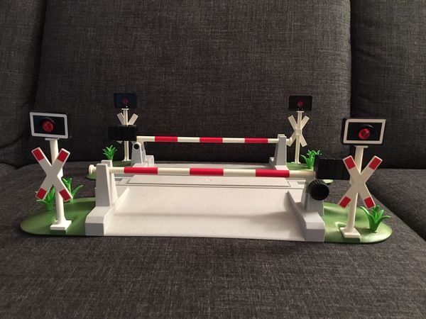 Playmobil 4306 Bahnübergang