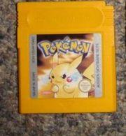 Pokemon Gelb für game boy