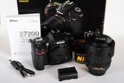 Nikon D7200 Nikon AF-S DX