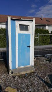 Bau WC zu verkaufen