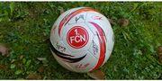 Signierter Fußball 1 FC Nürnberg