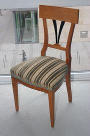 Sechs Biedermeier Stühle