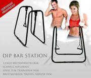 Fitnessgerät Dip Station Dipständer mit