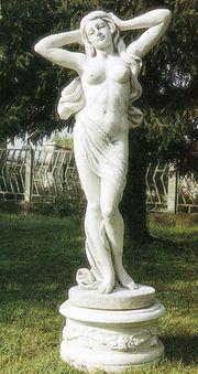 Steinfigur für Garten
