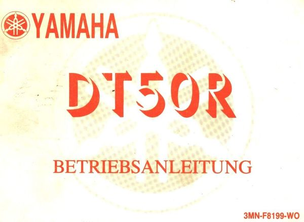 Bedienungsanleitung Yamaha DT 50 R in Bochum - Mofas, 50er ...