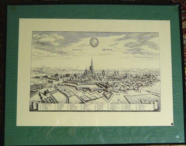 Kupferstich von Straßburg » Kunst, Gemälde, Plastik