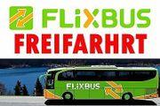 SOFORT Flixbus Freifahrt
