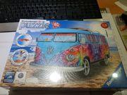 vw bus t3 puzzle 3