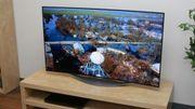 Verkaufe neuwertigen riesigen 55-Zoll-OLED-TV inkl