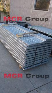 Fassaden Gerüst Stahlboden