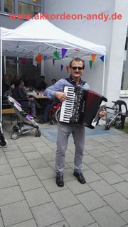 Akkordeonspieler in Osnabrück Bielefeld Bohmte