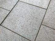 Terassenplatten Steinplatten Fliesen geschliffen 40x40x4
