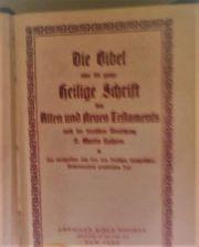Alte Bibeln Verkaufen
