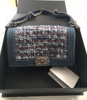 Original Chanel Boy Bag mit