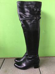 Overknee Stiefel LEDER 1x getragen