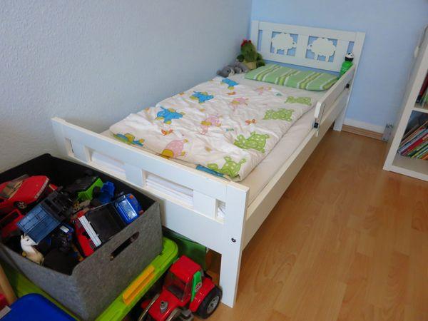 Ikea Kritter Junior Kinderbett 70x160 Lattenrost Inkl Matratze