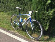 Cooles TREK ProjectOne Rennrad für