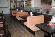 Sitzbänke Gastronomie Raumteiler