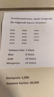 Drucker Patronen für Epson Drucker