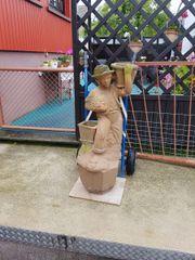 Gartenfigur Skulptur Steinfigur Gartendeko