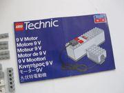 LEGO Motorantrieb mit