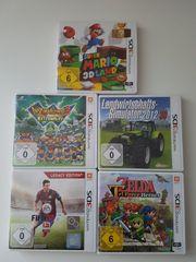 Verschiedene Spiele für den Nintendo