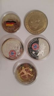 Münzen - 5 Stück -