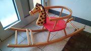 Holzschaukelpferd aus den 60ern handbemalt