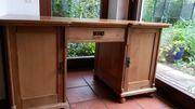Schreibtisch (Gründerzeit/Weichholz)