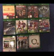 12 Xbox Spiele zu verkaufen