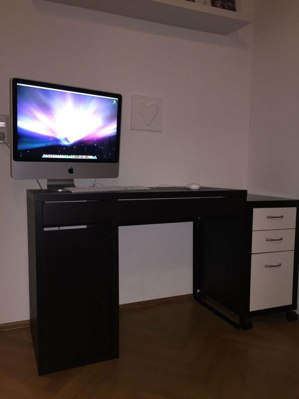 Ikea schreibtisch schwarzbraun  Schreibtisch, schwarzbraun von IKEA in Karlsruhe - IKEA-Möbel ...