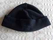 Mütze Fliesmütze schwarz für Damen