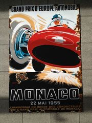 Altes Emailschild Grand Prix Monaco