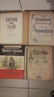 Klavier- Orgelnoten