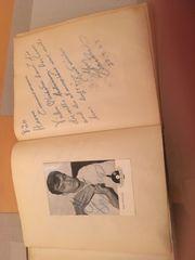 Besondere Autogrammkarten mit Unterschrift und