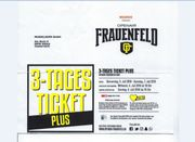 Frauenfeld 3 Tagesticket