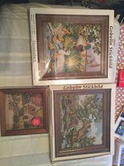 Verkaufe verschiedene Stickbilder