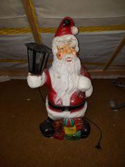 Weihnachtsmann Santa mit Laterne