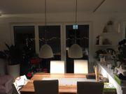 2x Lampe Esstischlampe aus Beton