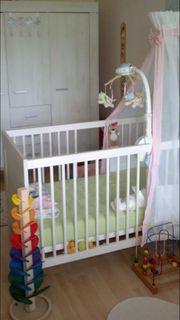 PAIDI Baby- Kinderbett Mees plus