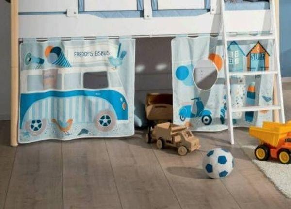 Paidi Vorhang-Set \'Holiday\' (blau) - Neuwertig! in Frankfurt ...