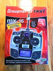 Graupner MX-16 Hott 8-Kanal Funksender