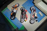 3 Motorräder Lego Technik