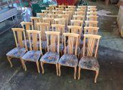 58 Stühle,Bestuhlung,