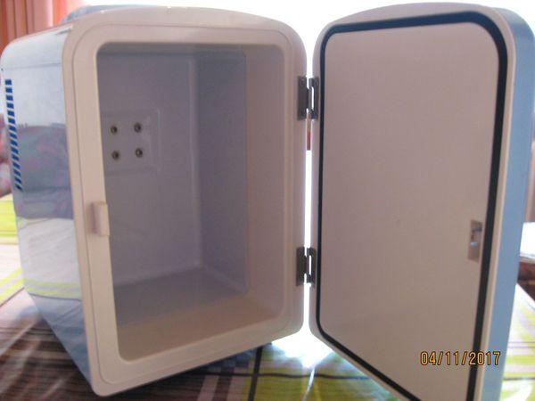 Kleiner Kühlschrank Einbau : Mini kühlschrank mit kühl und heizbetrieb vintage look neu in