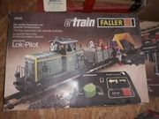 Faller e-train im Set