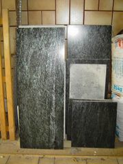 Natursteinplatten, Serpentin, poliert